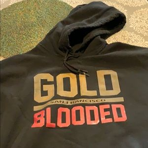 Other - XL San Francisco Blooded sweatshirt and t-shirt